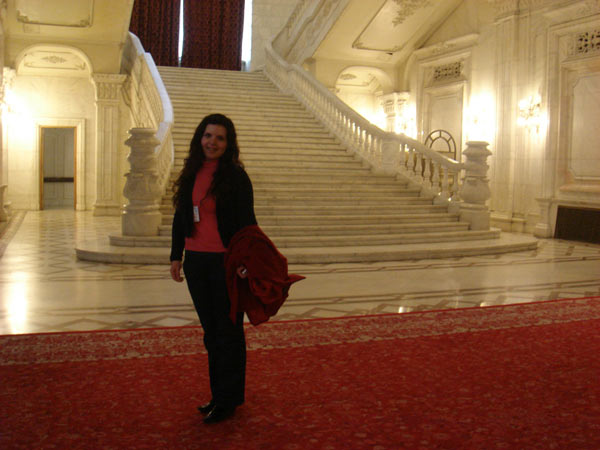 Romanian parliament