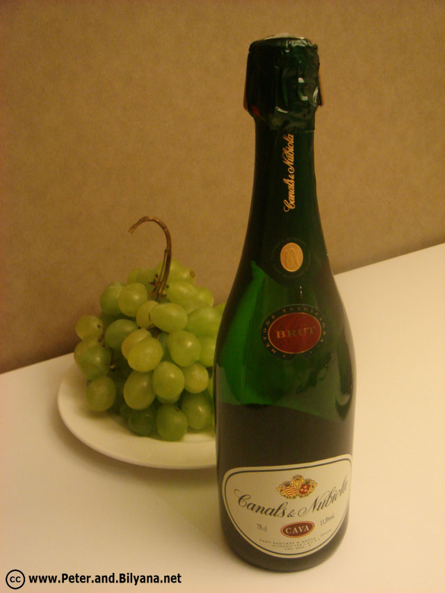 cava-bottle
