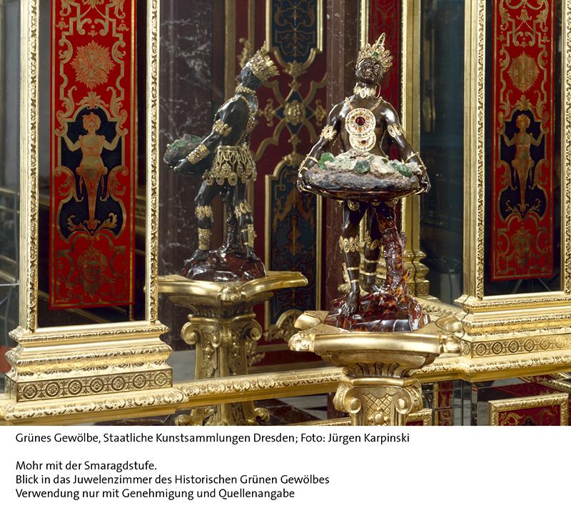 Grünes Gewölbe, Staatliche Kunstsammlungen Dresden; Foto: Jür