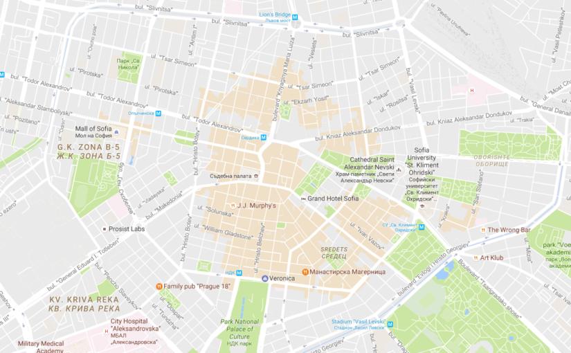 Google Maps с нов ъпдейт, показващ най-хубавите зони в градовете