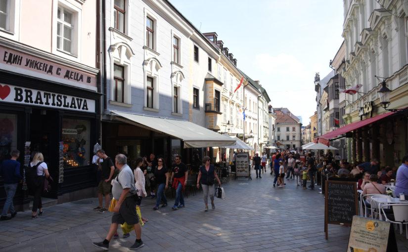 Един уикенд с деца в Братислава